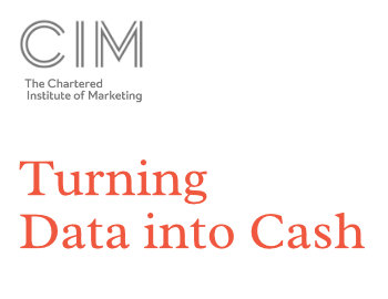 Turning Data into cash