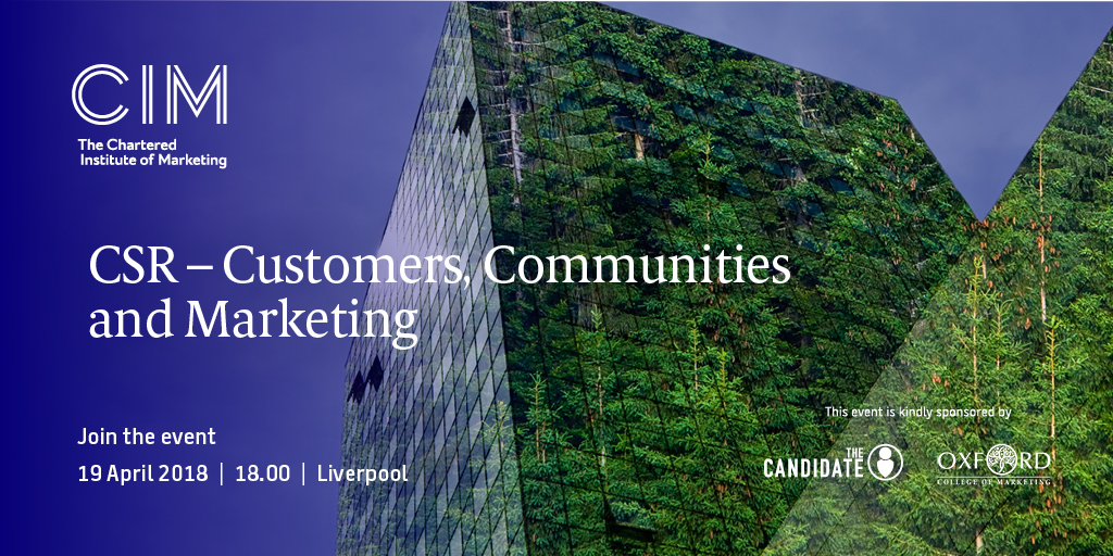 CSR - Customers, Communities and Marketing