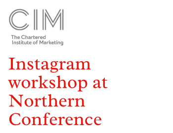 Instagram workshop at Northern Conference