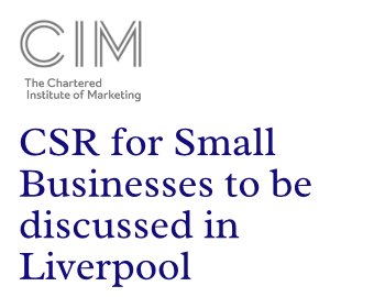 CSR for Small Businesses to be discussed in Liverpool