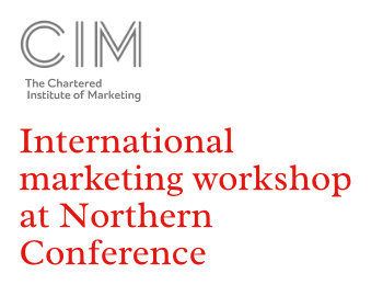 International marketing workshop at Northern Conference